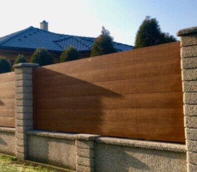 acél kerítés építés miskolc